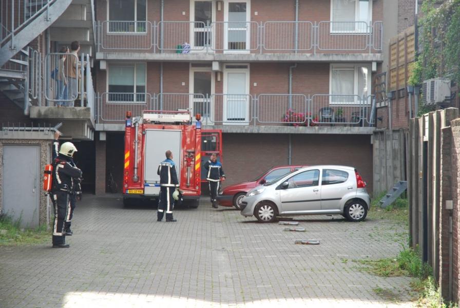 Commotie door kleine brand in centrum