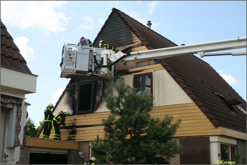 Weer uitslaande brand in Heerenveen