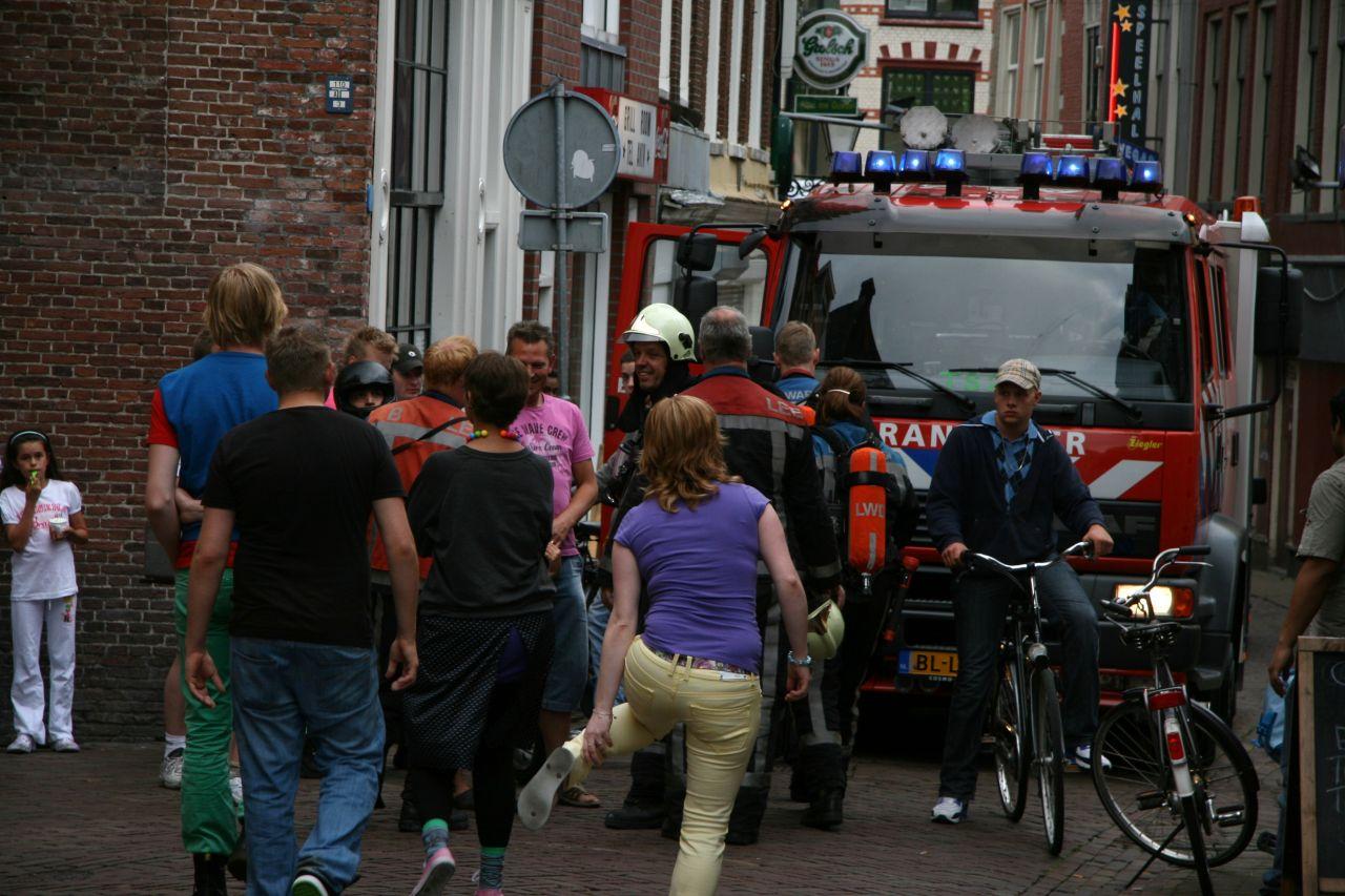Woningbrand in binnenstad blijkt houtkachel