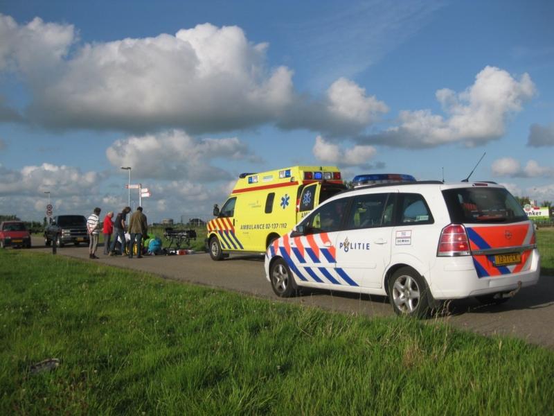 Twee ongevallen met fietsers in Sneek