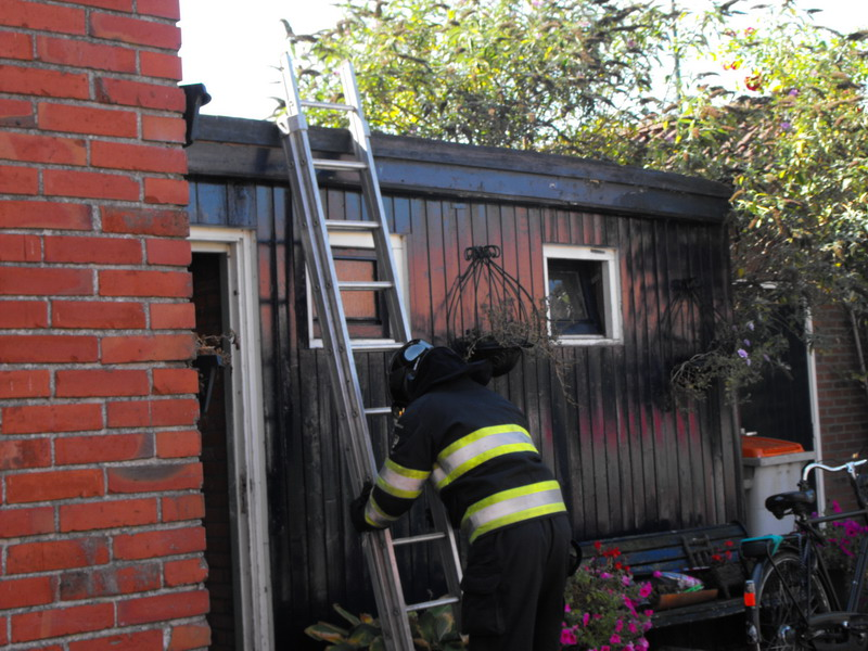 Behoorlijke schade na keuken brand