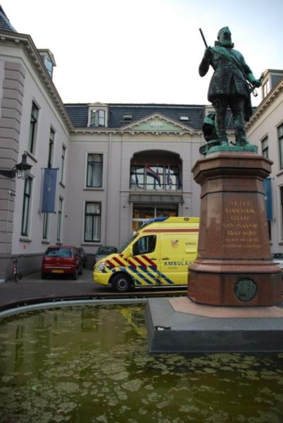 Matrassen in brand in hotel Stadhouderlijk Hof *Update*