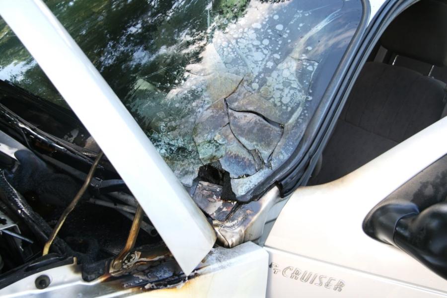 Kortsluiting in auto
