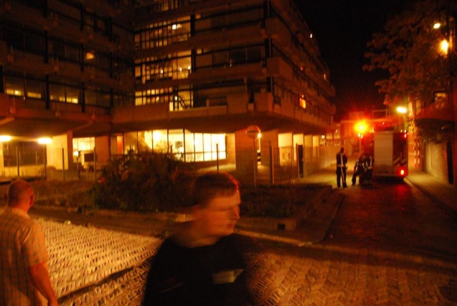 Buitenbrand Agora + brandmelding centrum