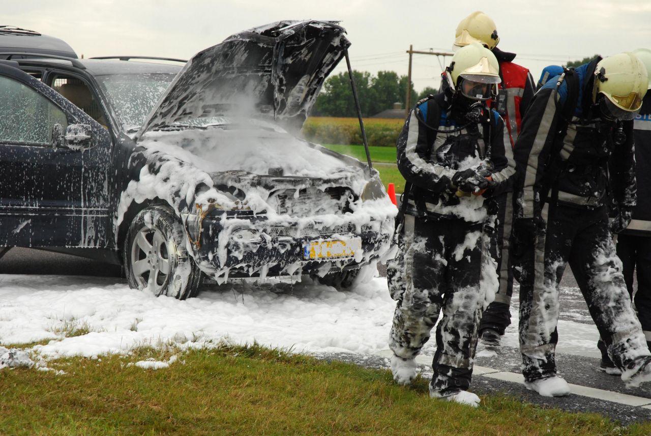 Autobrand Werpsterhoek