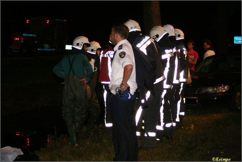 Voorbijgangers en politie redden man uit auto