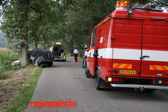 Vrouw overleden bij ongeval