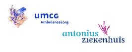 Nieuwe naam voor UMCG Ambulancezorg en Antonius ambulancezorg