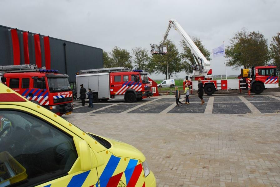 Opening nieuwe brandweerkazerne