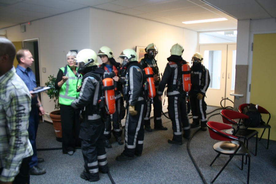 Brandpreventieweken: ontruimingsoefening Borniaherne