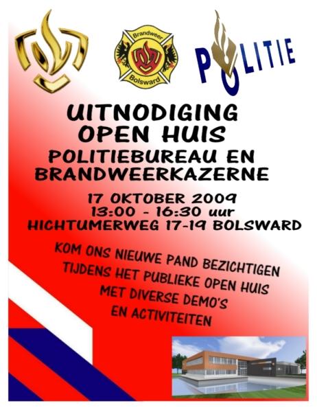 Open dag politie en brandweerkazerne Bolsward (Update)