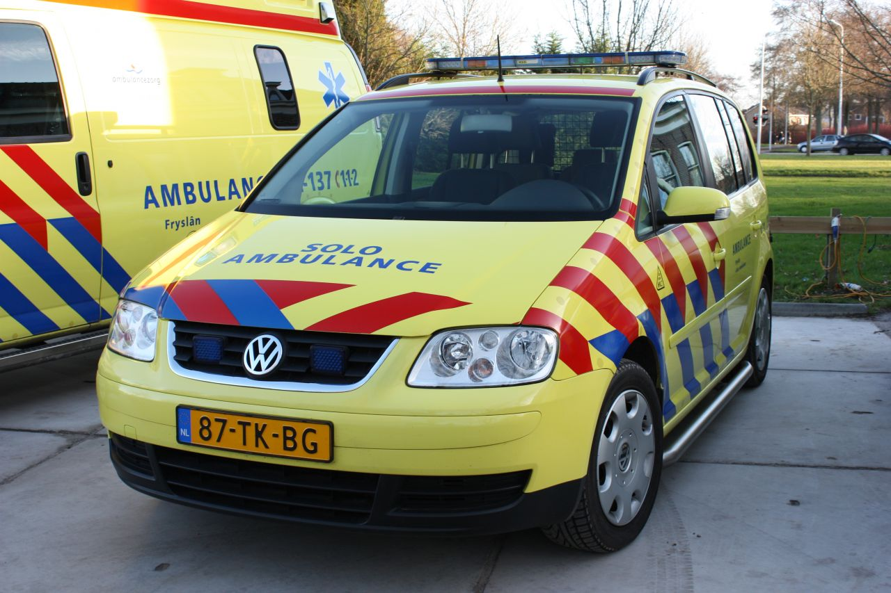 Ambulancezorg Zuidwest Fryslân versterkt met Solo-ambulance