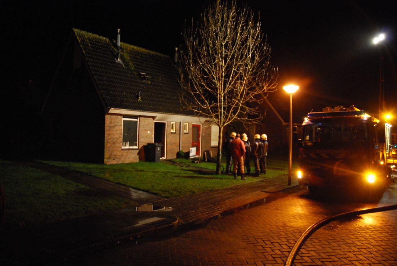 Woning onbewoonbaar door brand