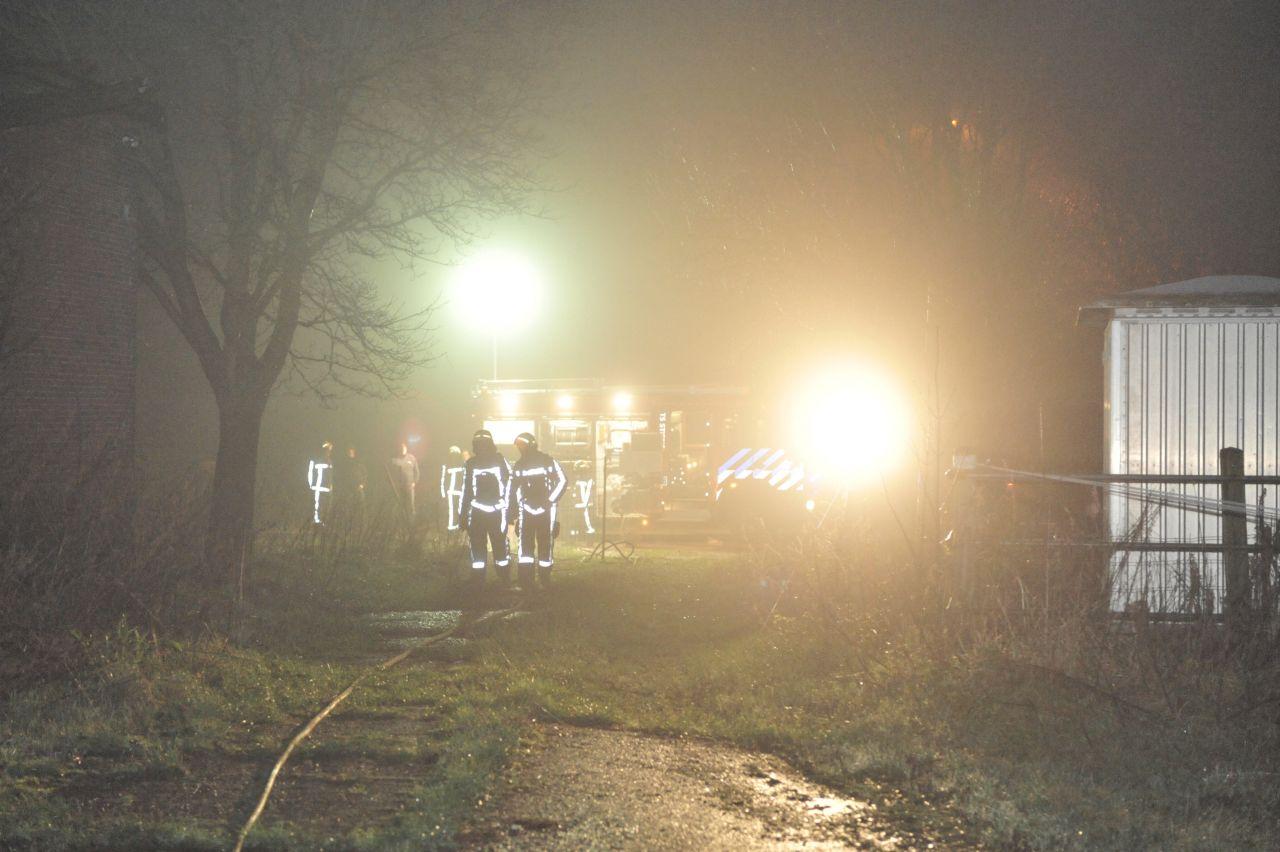 Brand in monumentale boerderij Finkum