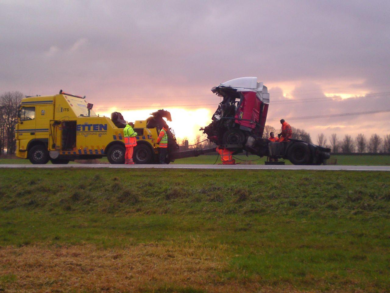 Dode en zwaargewonde bij ongeval Waldwei *update 16:30*