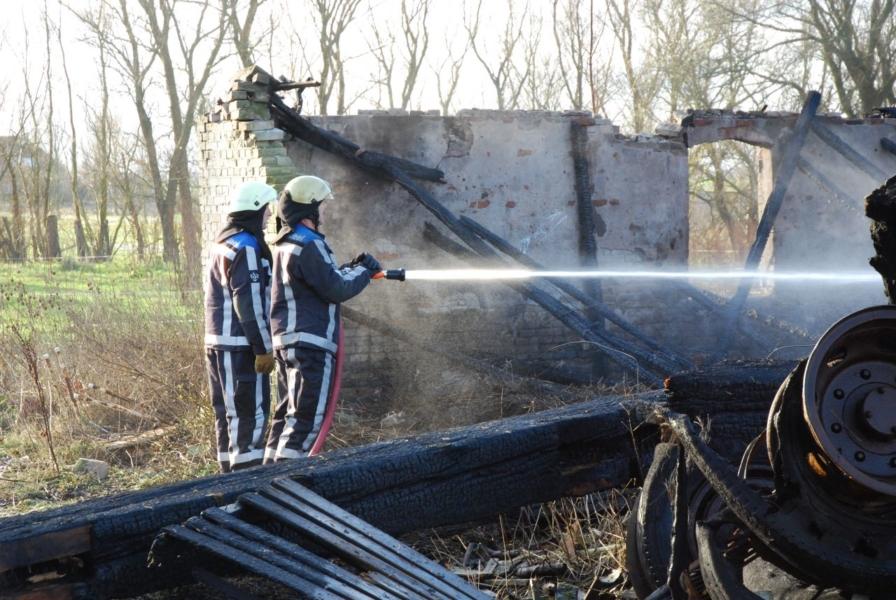 Oude boerderij verwoest door brand