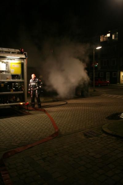 Opnieuw containerbrand Vrijheidswijk