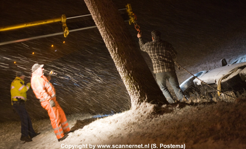 Winterweer zorgt voor overlast en ongevallen *Foto Update 22:20*
