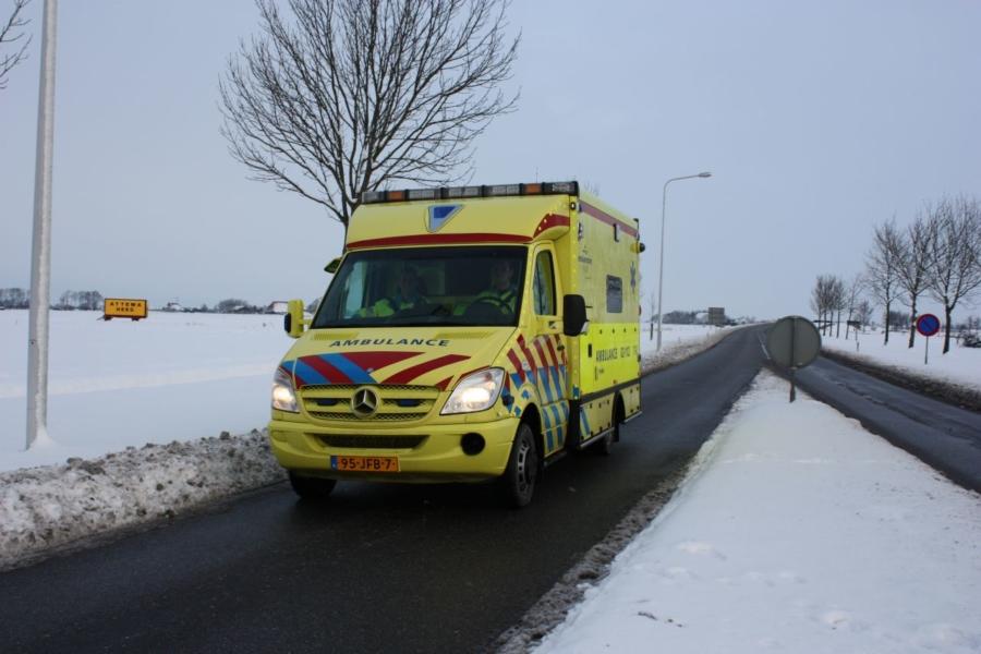 Doorgaande wegen weer sneeuwvrij