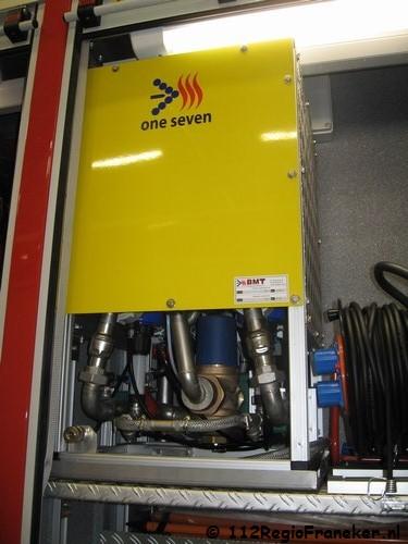 Nieuwe brandweerwagens in Fryslân