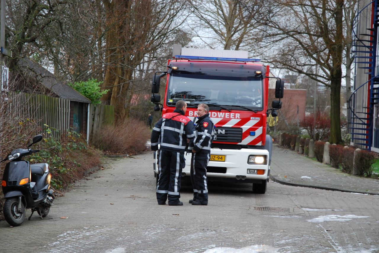 Containerbrand in parkeergarage