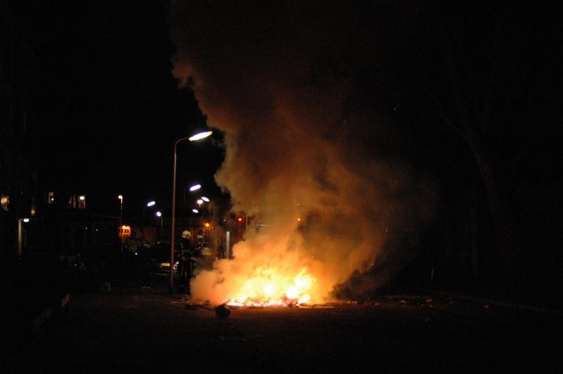 Oudjaarsdag brandjes Leeuwarden