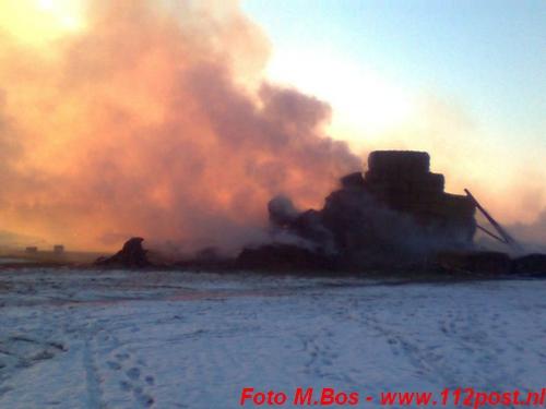 Strokasteel in brand