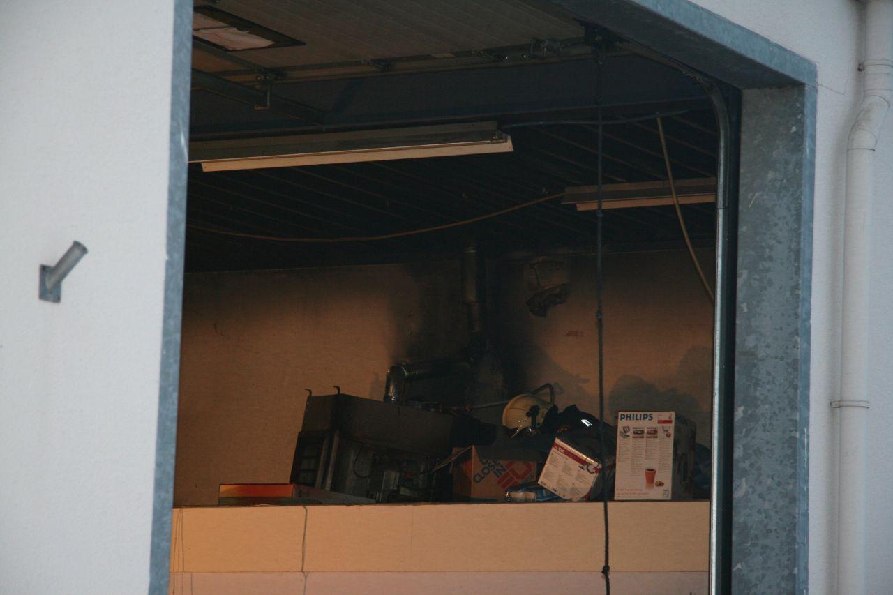 Brand in sorteercentrum (video)