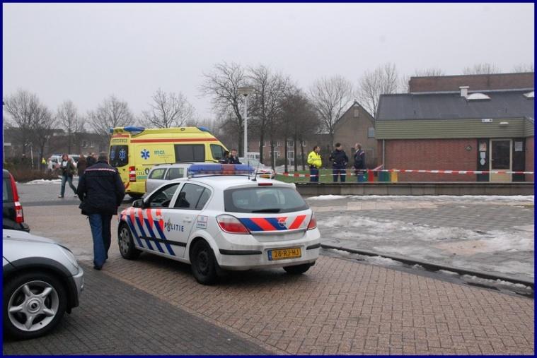 Politie schiet man neer bij basisschool