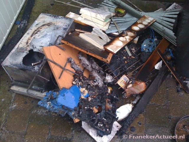 Rookontwikkeling bij keukenbrand
