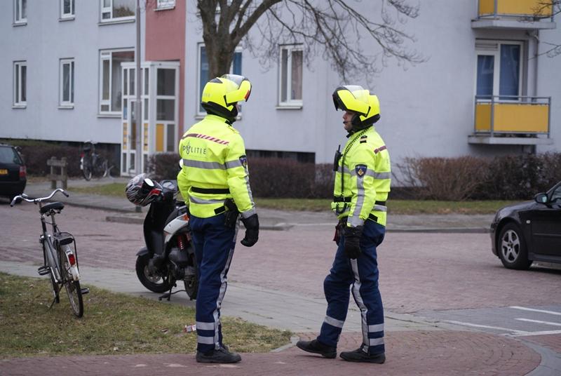 Grote politie actie Heechterp (Update)