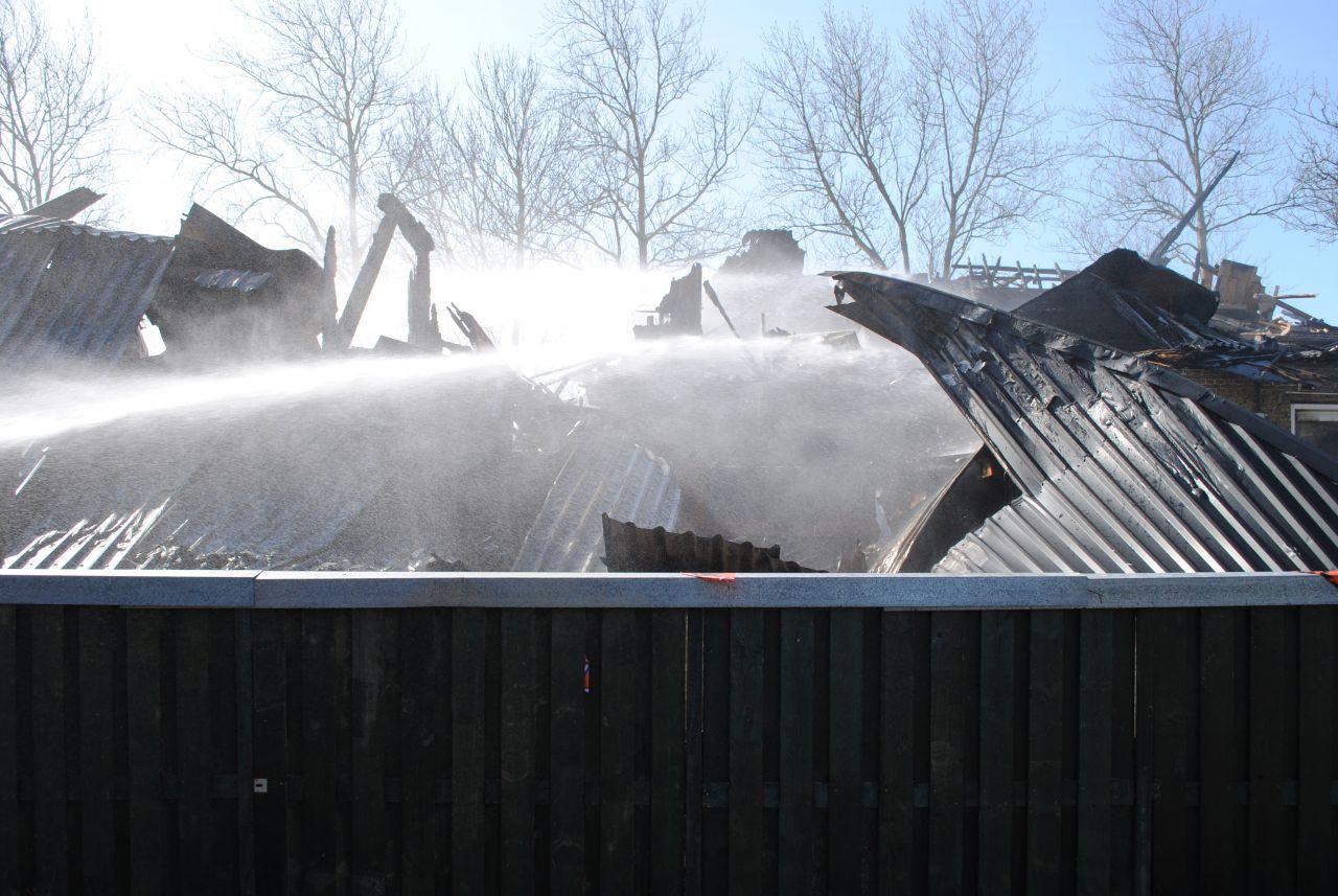 Oorzaak brand woonboerderij mogelijk kortsluiting