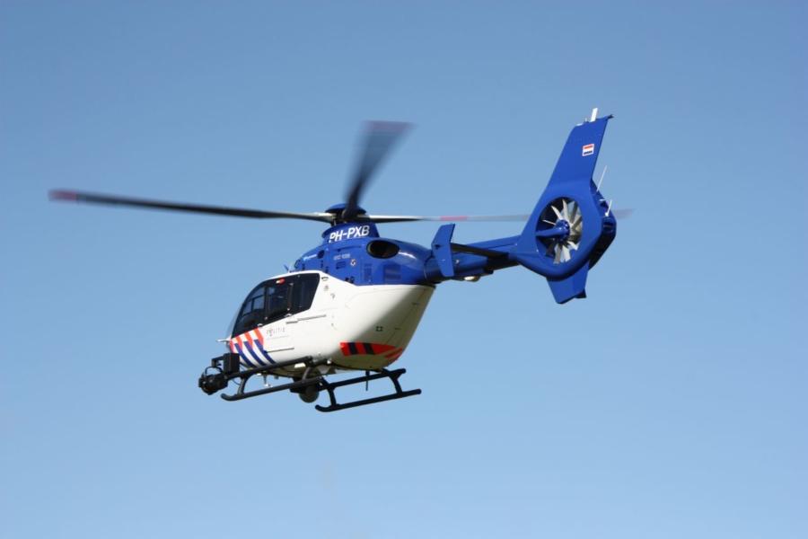Politiehelikopter ingezet bij zoekactie