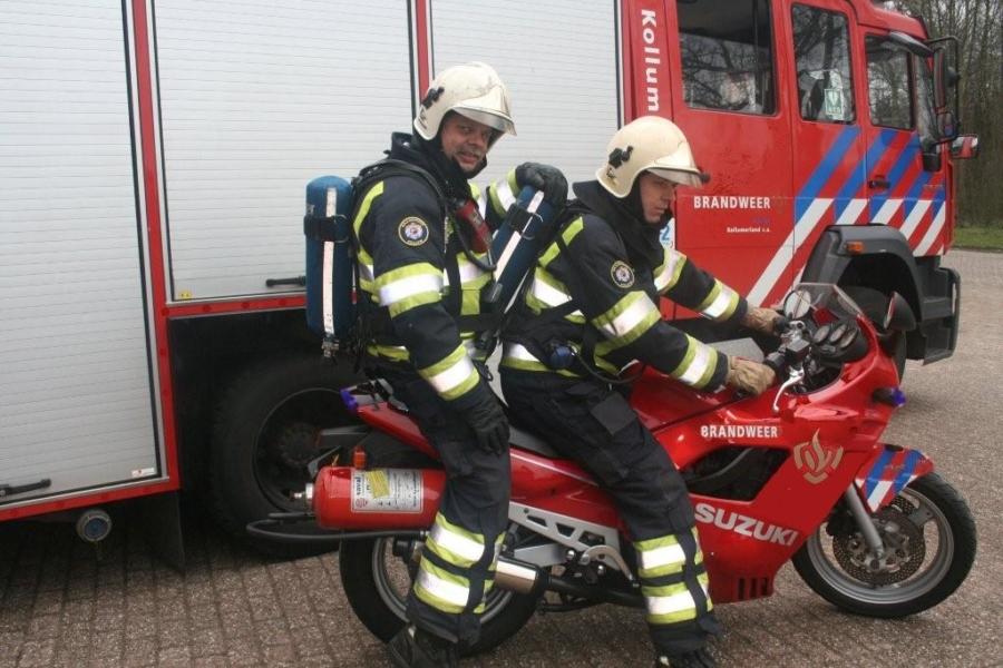 Brandweer Kollum haalt 1 april grap uit
