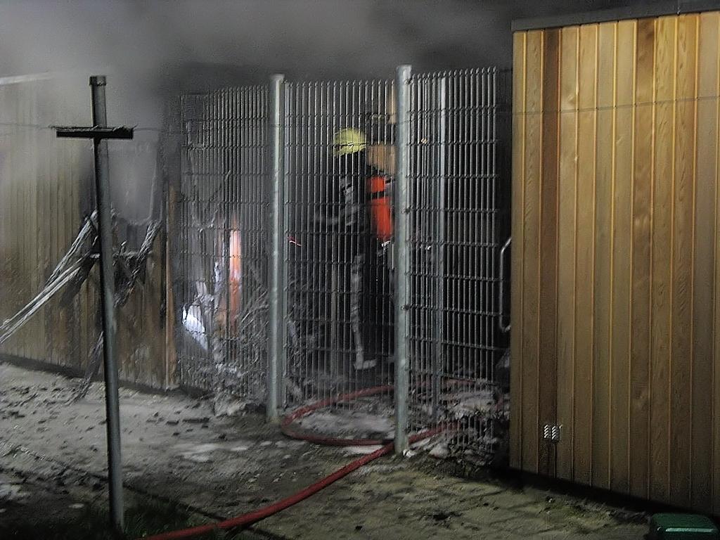 Buitenbrand blijkt uitslaande schuurbrand