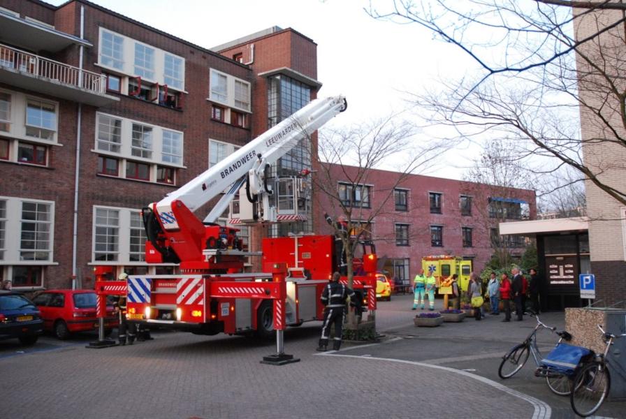 Brandweerassistentie voor afhijsing
