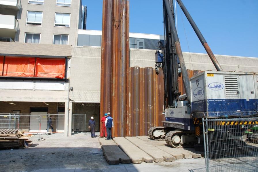Gaslek bij nieuwbouwproject 'Nieuw Zaailand'