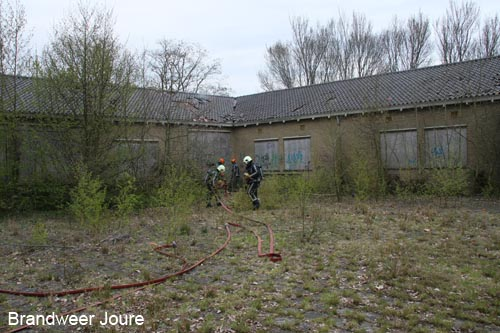 Brand in oude MAVO