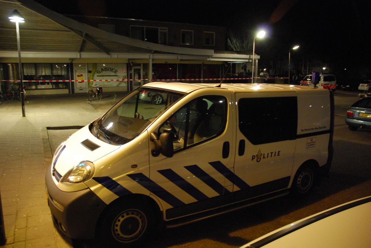 Politie onderzoekt roofoverval Willem Alxanderplein