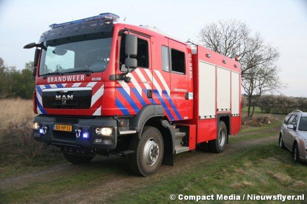 Grote natuurbrand Dwingeloo