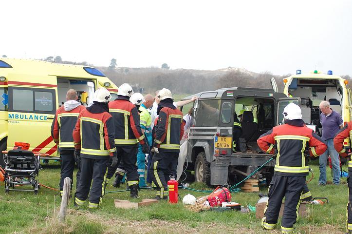 Meerdere heli's ingezet bij ongeval Terschelling(Foto update!)