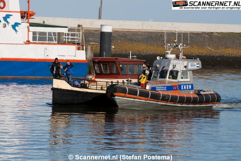 Brandweer en KNRM in actie voor brand op schip