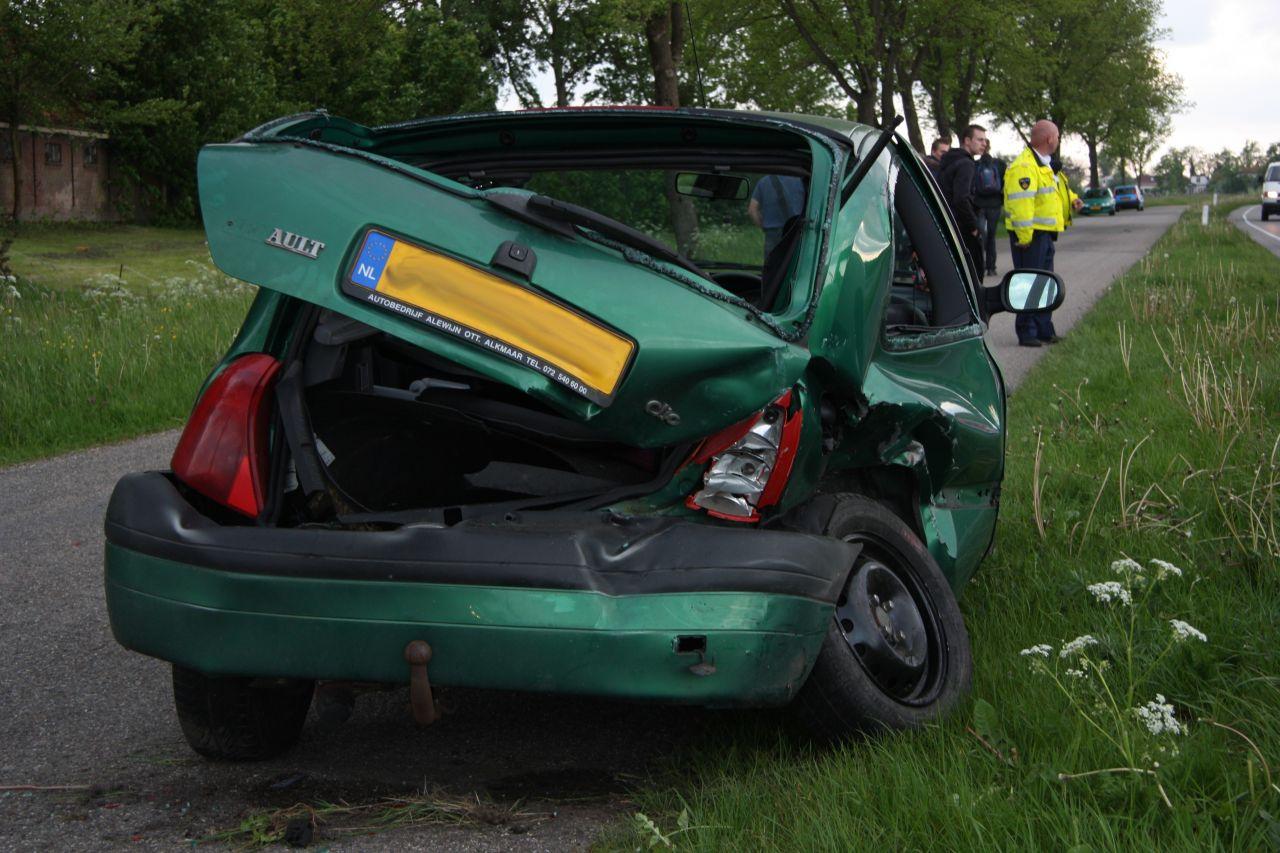Veel schade bij ongeval Snitserdyk – N354 (Video)