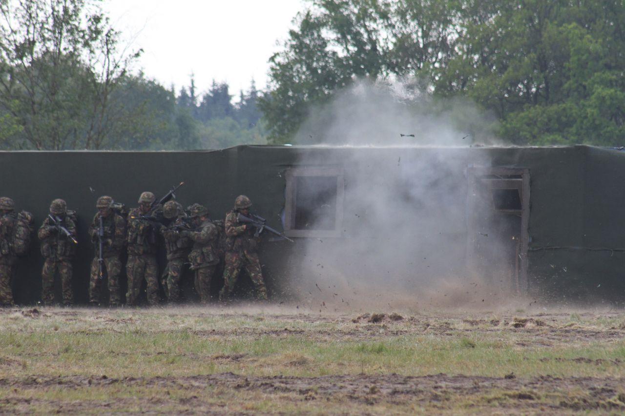 Open dagen landmacht (video)