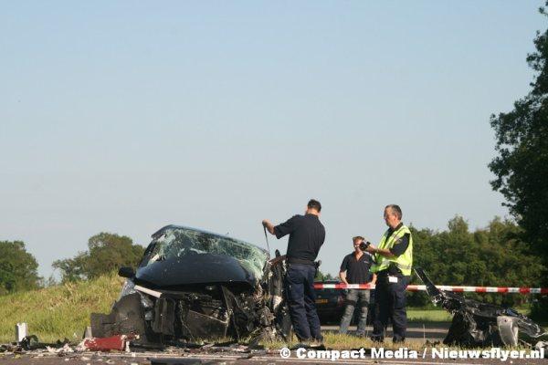 Tankwagen betrokken bij ongeval