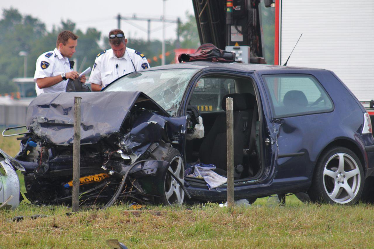 Twee doden bij ongeval op N31(Video)