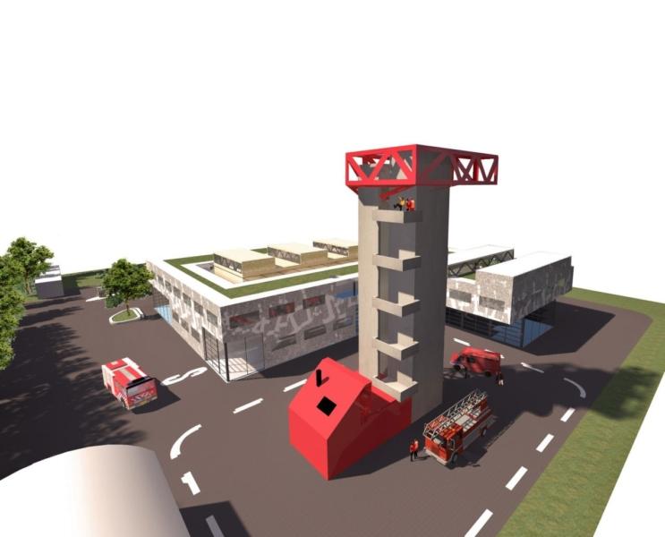 Nieuwe kazerne brandweer Leeuwarden
