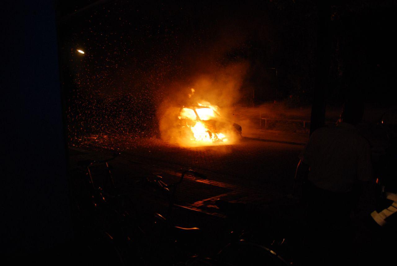 Volkswagen verloren door brand