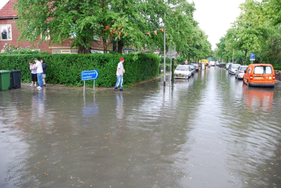 Veel regen zorgt voor overlast