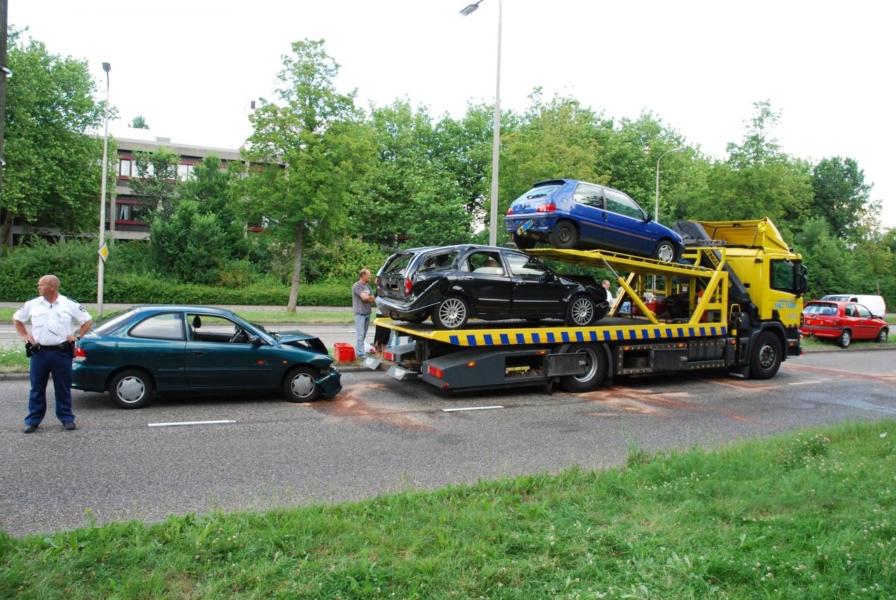Vijf auto's betrokken bij aanrijding